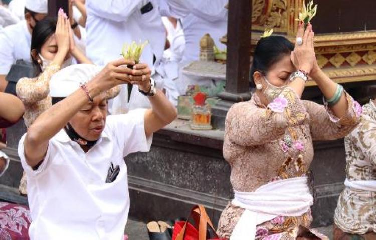 Diawali Upacara Yadnya Pamahayu Jagat Bali Siap Terapkan New Normal Liputanbali Com
