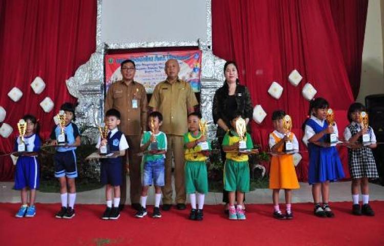 Lomba Mewarnai Meriahkan Peringatan Hari Anak Nasional
